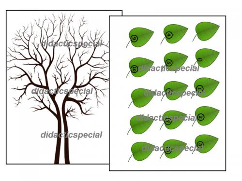 set-creativ-copacul-numerelor