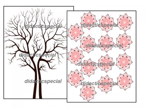 set-creativ-copacul-primavara