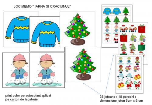 joc-memo-iarna-si-craciunul-prezentare