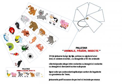 paletar-animale-insecte-pasari