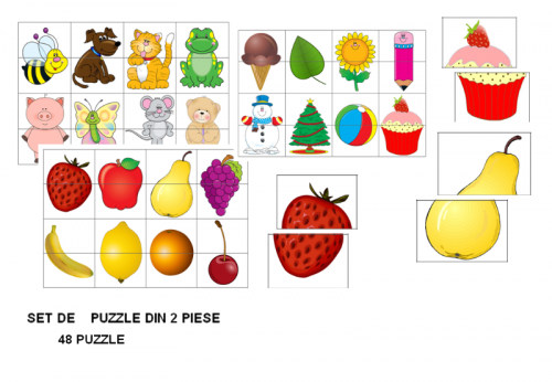 set-48-puzzle-din-2-piese
